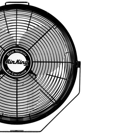 Air King 12 Inch 3 Speed 1/25 HP Motor Industrial Grade Multi-Mount Fan | 9312