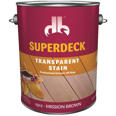 Duckback SUPERDECK VOC Transparent Exterior (Superdeck Wood)