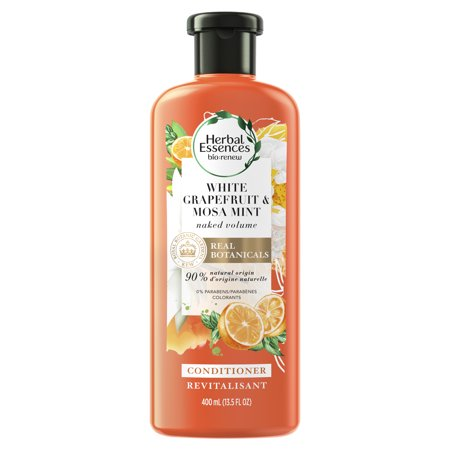 - Herbal Essences bio:renew White Grapefruit & Mosa Mint Volumizing Conditioner, 13.5 fl oz