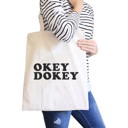 Black And White Wedding Ideas (Okey Dokey Natural Canvas Bag Cute Graphic Gift Ideas For)