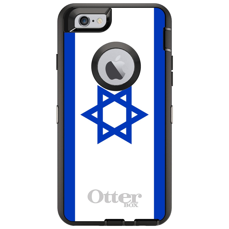 DistinctInk Custom Black OtterBox Defender Series Case for Apple iPhone 6 Plus  ...