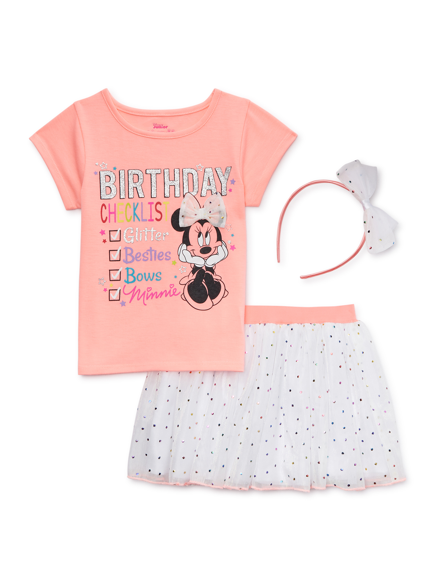 NEW Boutique Mermaid Minnie Mouse Purple Shorts Girls Outfit