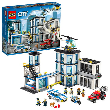 LEGO City Police Station 60141 Building Set (894