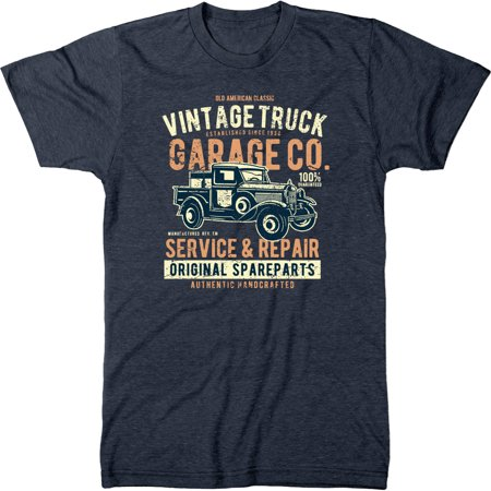 Vintage Truck Garage Men's Modern Fit T-Shirt