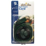9? Brite Star Indoor 3 Outlet Extension Cord with Foot Switch