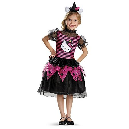 Disguise 88672S Hello Kitty Witch Classic Toddler Costume, Small (2T) - Womens Hello Kitty Costume