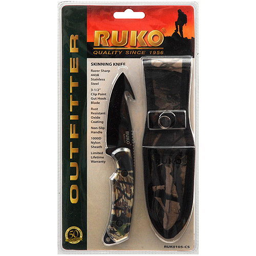 Ruko Outdoor Products Skinning Knife