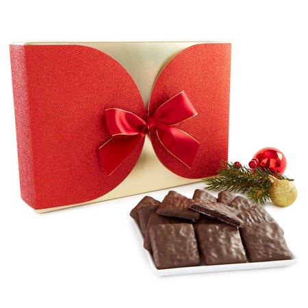 Harry & David Decadent Fudge Mint Cookies (2 lbs 5.6 oz), Red Box - Harry And David Halloween Cookies