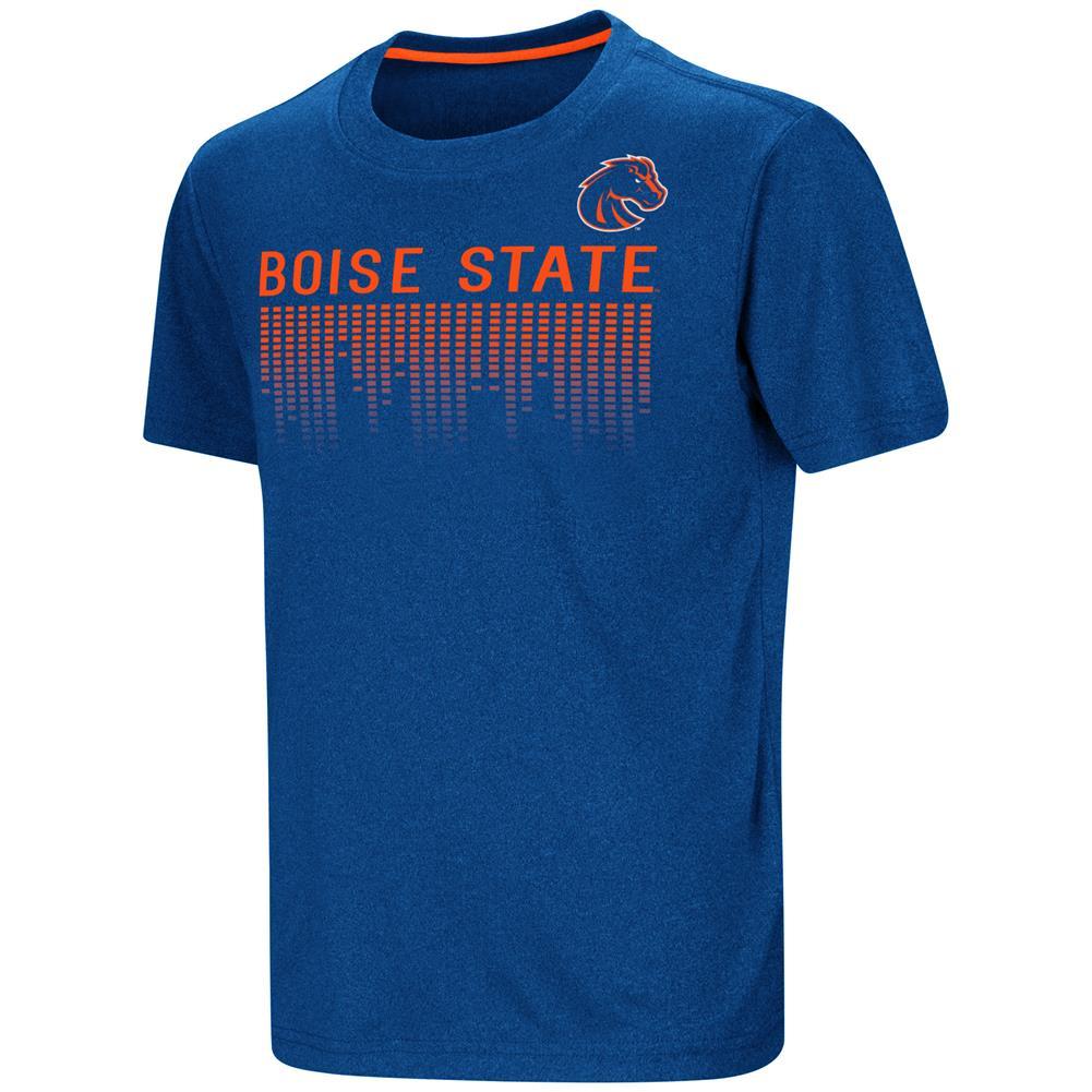 Boise State Broncos Youth T-Shirt Perforrmance Athletic Shirt