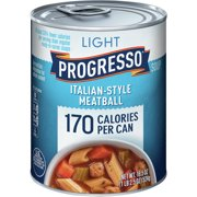 Progresso Light Italian Style Meatball Soup, 18.5 oz