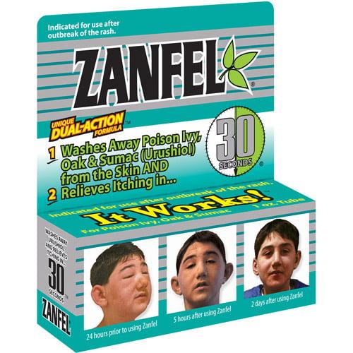 Zanfel For Poison Ivy, Oak & Sumac, 1.0 OZ by Generic