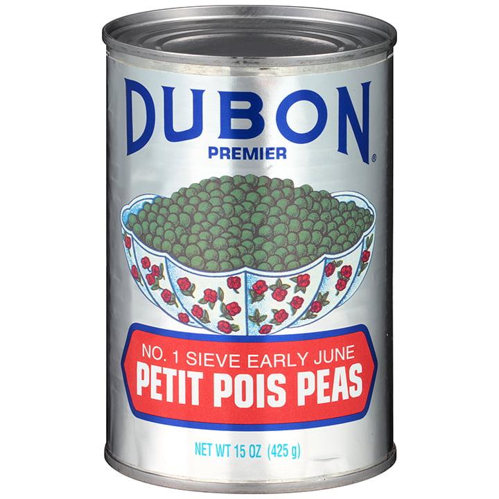 Dubon Premier Petit Pois Peas, 15 oz
