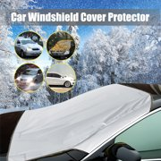Windscreen Cover Car Truck SUV Auto Magnet Window Windshield UV Sun Shade Frost Protector Silver/Purple/Blue