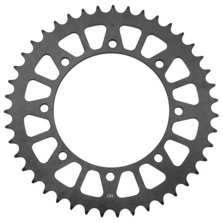 BikeMaster 220 801 42 Steel Rear Sprocket - 42T
