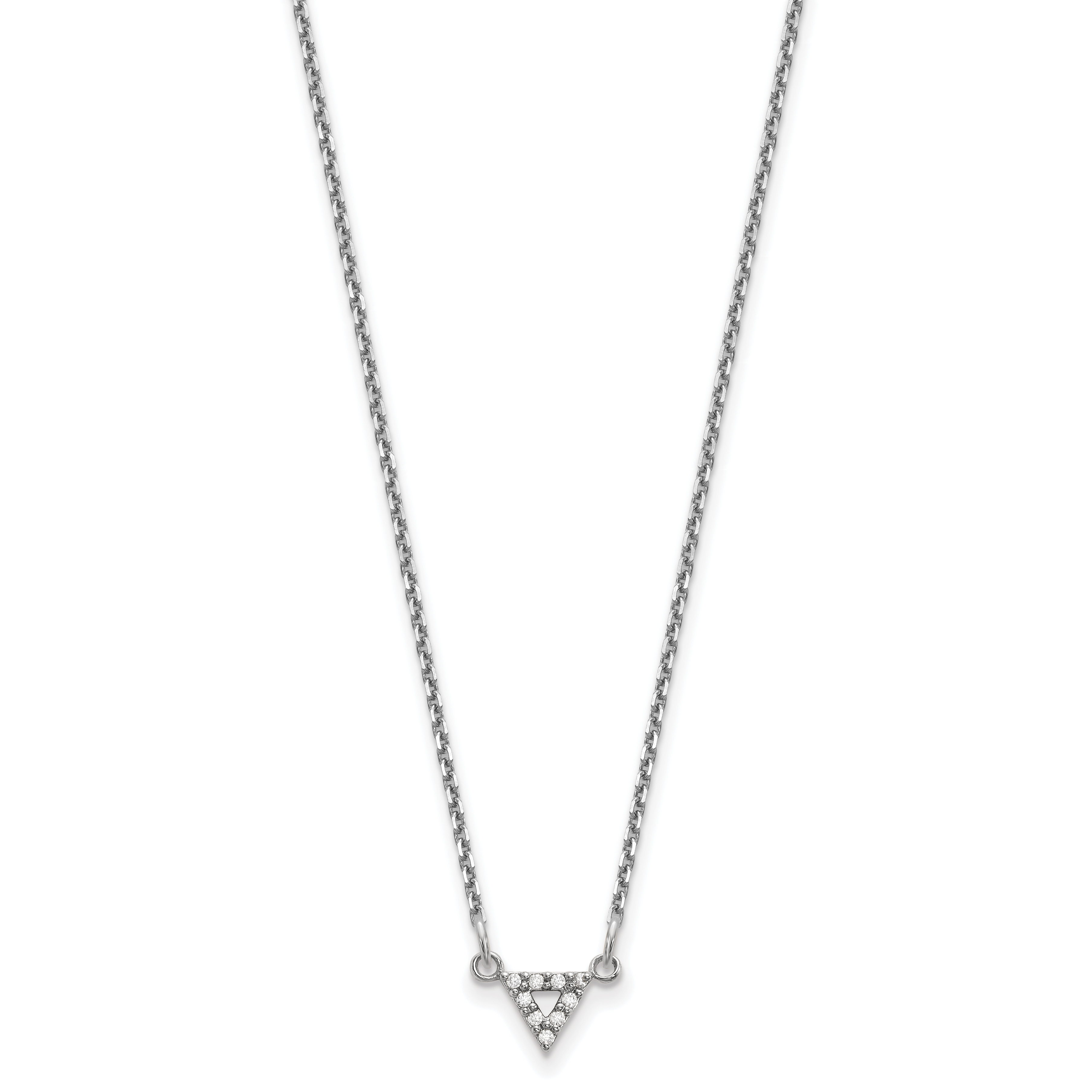 Mia Diamonds 14k Yellow Gold 1.6mm 16in Poppy Leather Cord Necklace