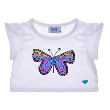 Build A Bear Workshop Butterfly Gem T-Shirt
