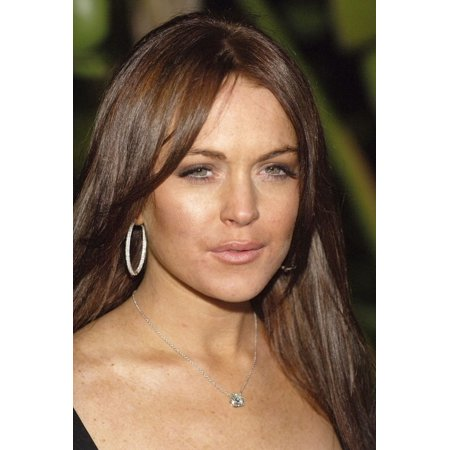 Lindsay Lohan At Arrivals For Scandinavian Style Mansion Party Canvas Art - (16 x 20)
