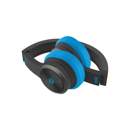 d78e58c9b41 iHome iB88 Splash Proof Rugged Foldable Bluetooth Headphones with Mic and  Pouch