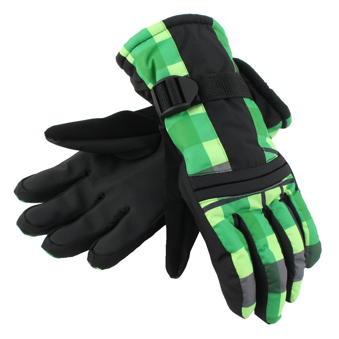 Women Motorcycle Cycling Snowmobile Snowboard Ski Gloves Athletic Mittens Green