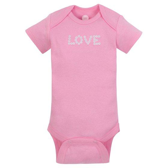 1db83d507 Wonder Nation - Wonder Nation Short Sleeve Bodysuits, 6pk (Baby ...