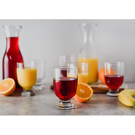 (Better Homes & Gardens Juice Pitchers and Glass Set, 10 Pieces)