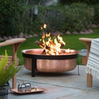 Coral Coast Eden Copper Wood Burning Fire Pit