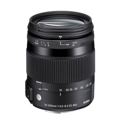 Sigma 62 mm Attachment - 0.33x Magnification - 11.1x Optical Zoom - Optical IS - HSM