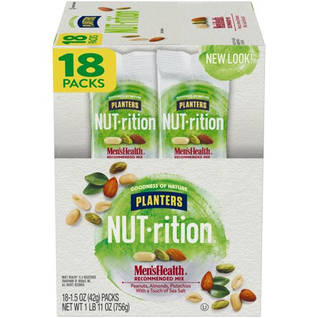 Planters NUT-rition Men's Health Recommended Mix, 18 ct - 1.5 oz