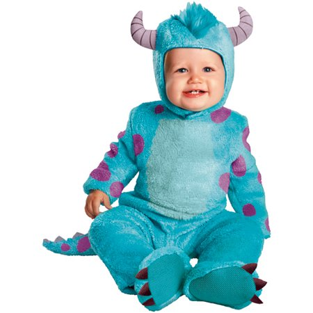 Monsters University Classic Sulley Infant Halloween Costume - Boo Infant Costume