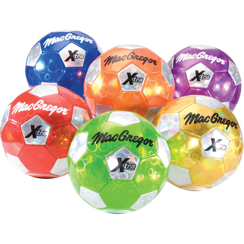 MacGregor Color My Class Xtra Soccer Ball, Size 5