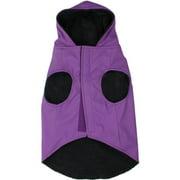 """Jelly Wellies Deluxe Raincoat, Medium, 15"""", Purple"""