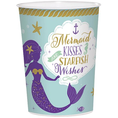 Wishful Mermaid 16oz Plastic Favor Cup (1)