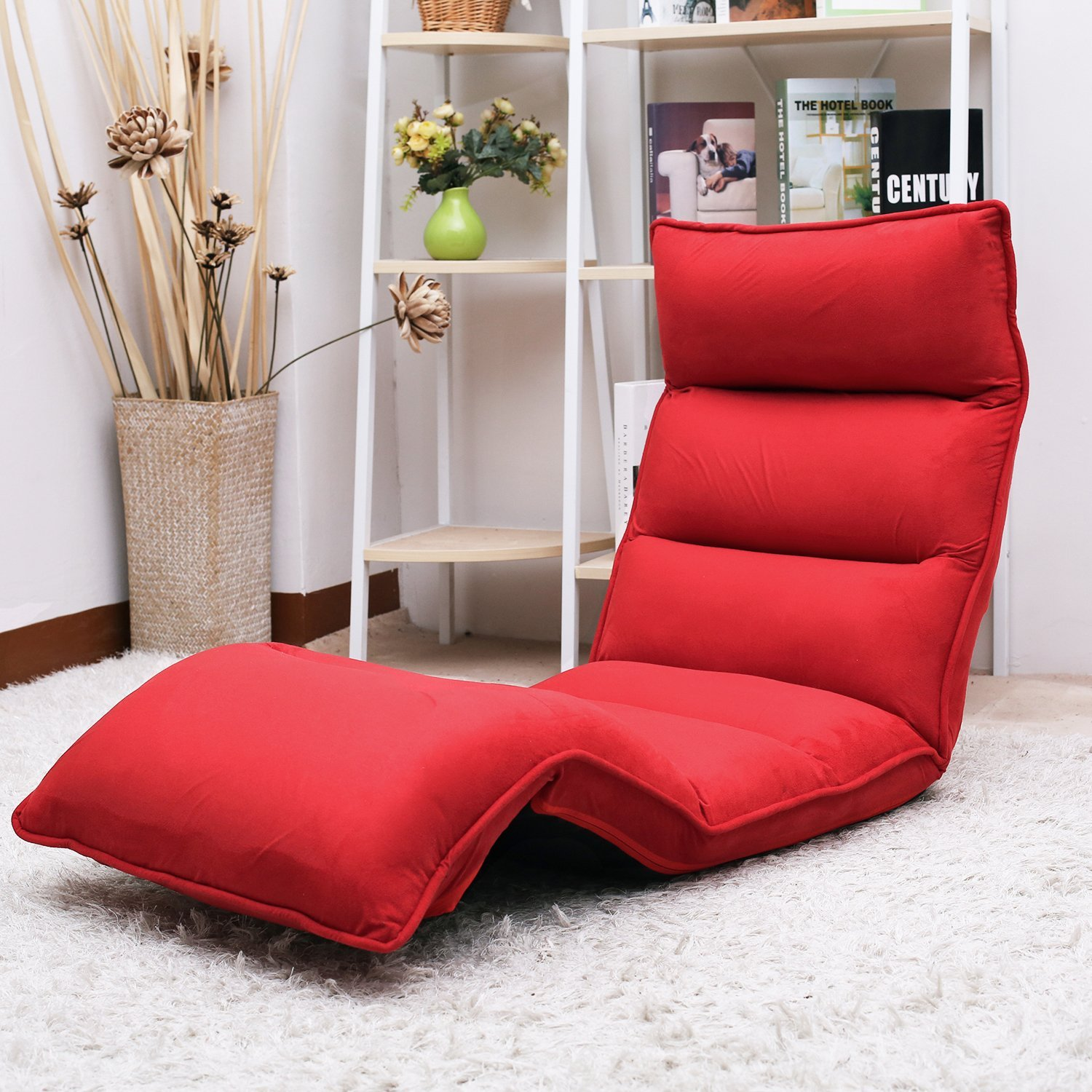Merax Foldable Floor Chair Relaxing Lazy Sofa Bed Seat Couch Lounger