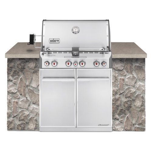 Weber Summit S-460 Built In Gas Grill Propane by Weber-Stephen Products Co