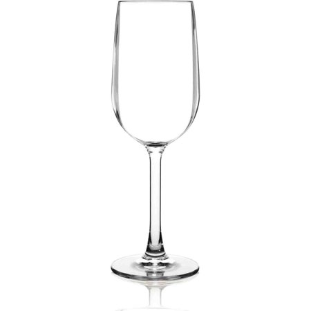 BarLuxe Vintage Sonoma 6-Piece Unbreakable Stemmed Wine Glasses Set by