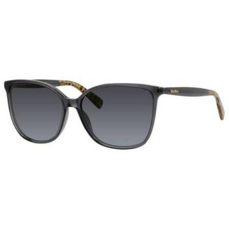 MAX MARA Sunglasses LIGHT I/S 0BV0 Dark Gray (Maxmara Sunglasses)