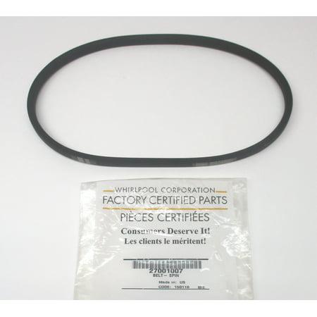 WP27001007 Genuine Whirlpool Washing Machine Belt 27001007 Amana - Best Fog Machine