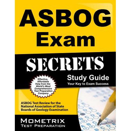 Asbog Exam Secrets Study Guide : Asbog Test Review for the National Association of State Boards of Geology