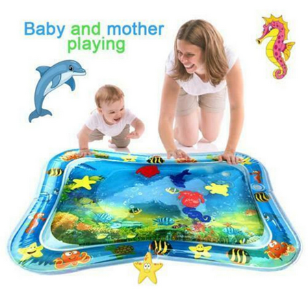 Inflatable Baby Water Mat Fun Activity Play Center for Children & (Best Deal On Sonos Play 5)