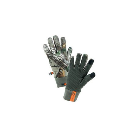 realtree  merchandise re93012 xl men    s slip-on fleece gloves with realtree xtra  camouflage  x-large