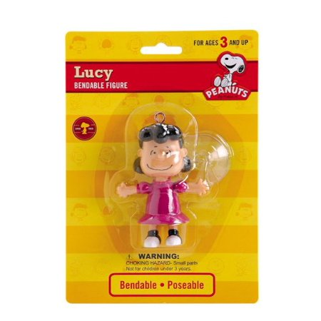 Peanuts - Lucy Van Pelt Bendable Figure with Suction Cup](Lucy Dress Peanuts)