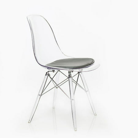 Image of American Atelier Living Banks Clear Side Chair