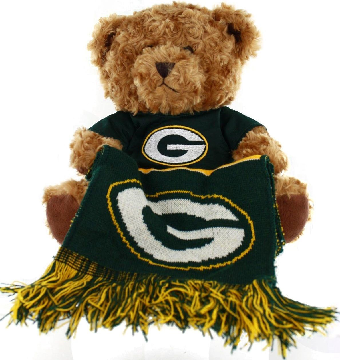 Green Bay Packers 2014 Plush Bear with Scarf