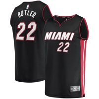 Jimmy Butler Miami Heat Fanatics Branded Fast Break Replica Player Jersey - Black - Icon Edition