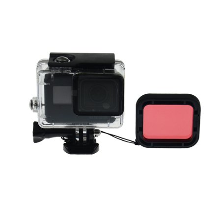 Holiday Time For GoPro Hero 5 45M Diving Waterproof Case Diving Housing Filter Lens Perotct