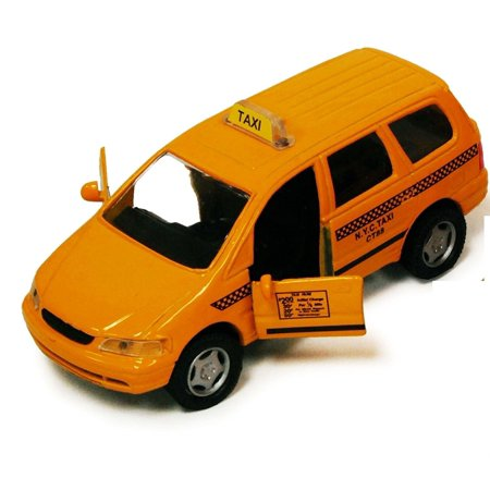 New York City Nyc Yellow Taxi Cab Iii 4 25   Suv Crossover Van Diecast Model