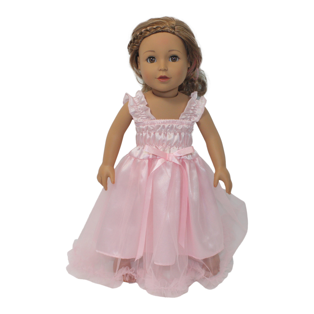 Dream Big Wholesale Doll Clothes Arianna Dreamin In Pink Nightgown