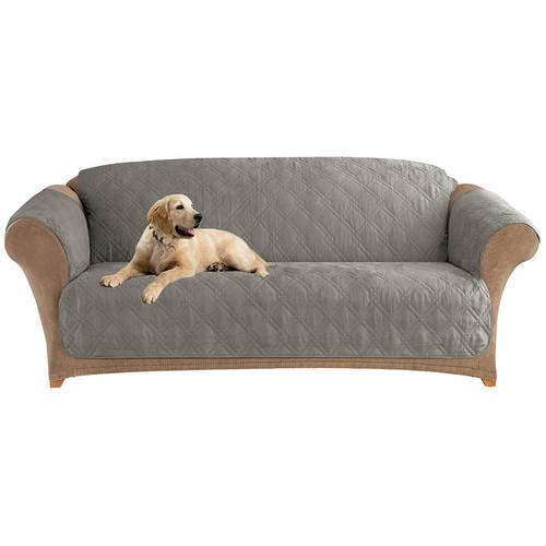 Stupendous Surefit Mircofiber Quilted Pet Sofa Cover Walmart Download Free Architecture Designs Embacsunscenecom