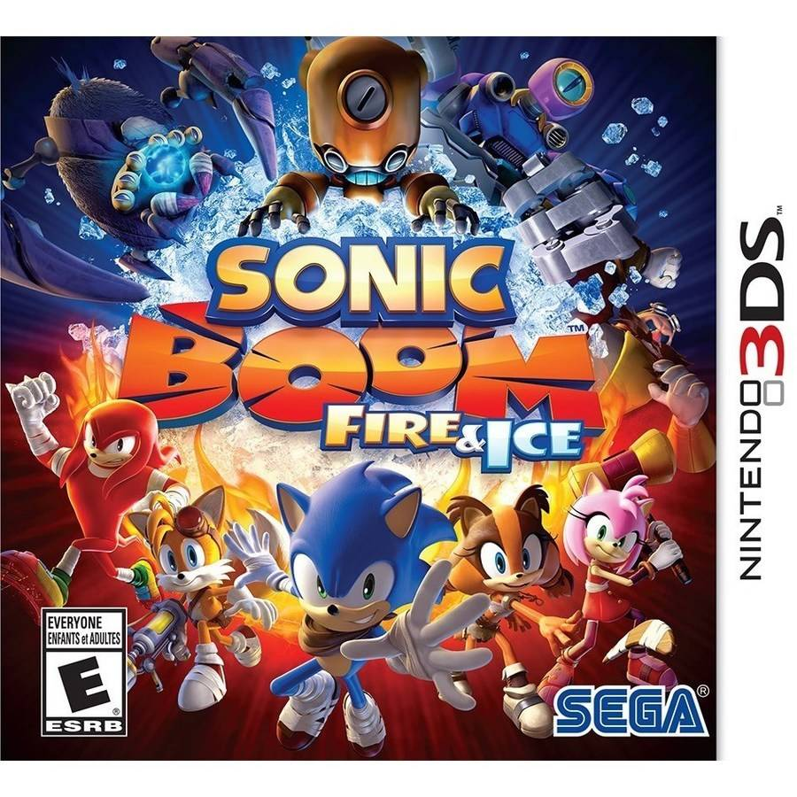 Sonic Boom Fire & Ice (Nintendo 3DS)