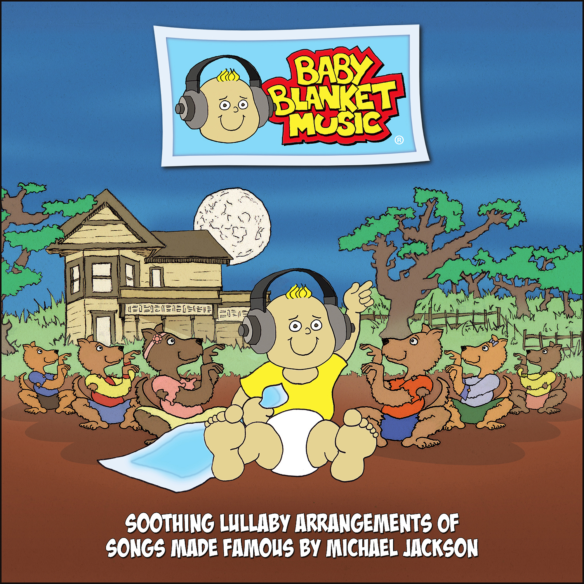 Baby Blanket Music CD, Soothing Lullaby Arrangements of Songs Made Famous by Michael Jackson